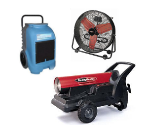 Heating, Fan, and Dehumidifier Rentals in New Orleans Metro Area