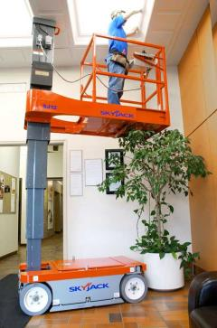Where to rent 16 FOOT SKYJACK AERIAL WORK PLATFORM in New Orleans LA