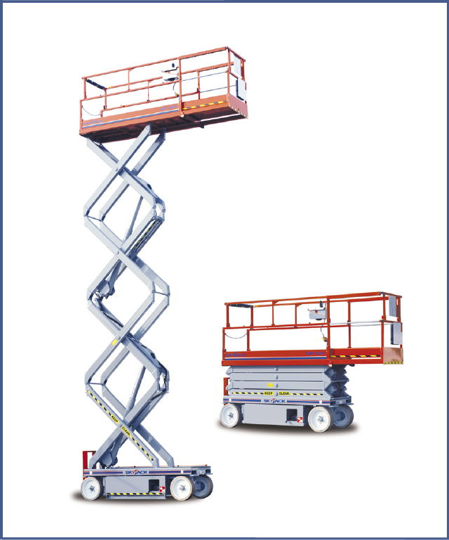 Where to find 32  SKYJACK SCISSOR LIFT  IN HOUSE in New Orleans