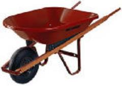 Rental store for 4 CUBIC FT POLY WHEELBARROW in New Orleans LA