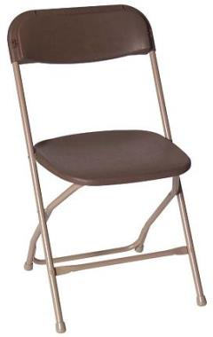 Where to rent BROWN FOLDING CHAIR in New Orleans LA